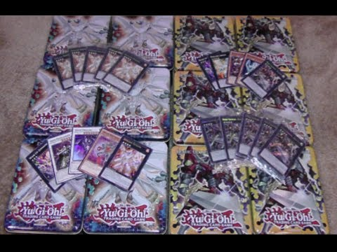 Yugioh Wave 1 Excalibur and Dolkka Tin Case Opening 12 Tins!!!