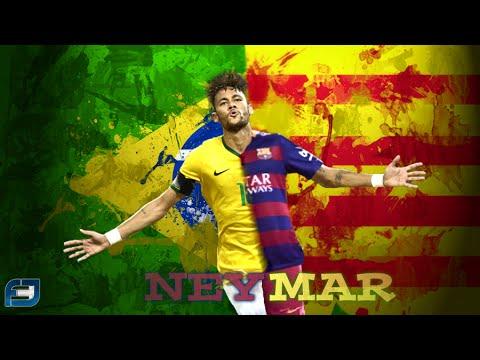 Neymar da Silva Santos Júnior ● Goals & Skills ● 15/16 ●