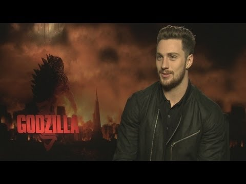 Aaron Taylor-Johnson interview on Godzilla, difficult actors and Avengers