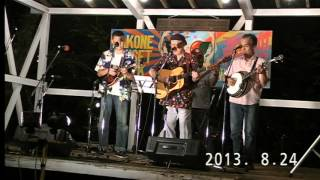 Oh! Jin Band from Hakone Bluegrass Festival in Japan on August 24, 2013