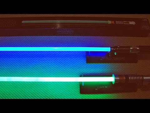 Sabre de Luz Verde: Star Wars Luke Skywalker Force FX Lightsaber Collectible