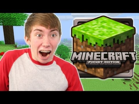 Watch MINECRAFT: POCKET EDITION LITE (iPhone Gameplay Video)
