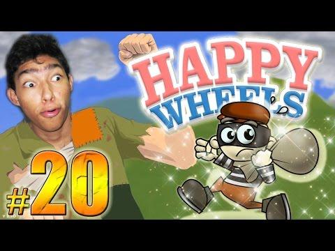 EL GRAN ESCAPE !! - Happy Wheels: Episodio 20 | Fernanfloo