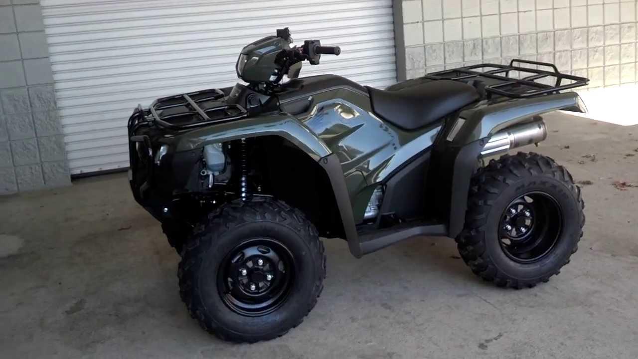 2014 Trx500fe1e Foreman 500 4x4 Atv Sale Honda Of Chattanooga Tn Al Ga Southeast Atv Dealer