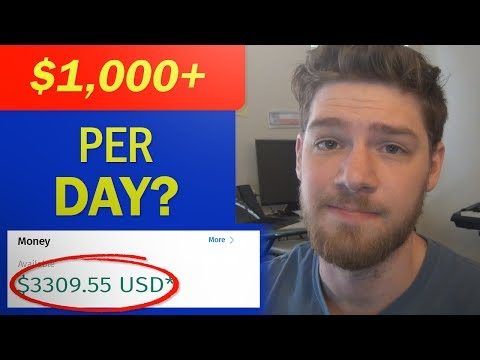 How to Make $1000/Day from Anywhere in the World!!