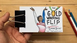 The Gold Winning Flip (book) with Simone Biles (2016 Olympics)