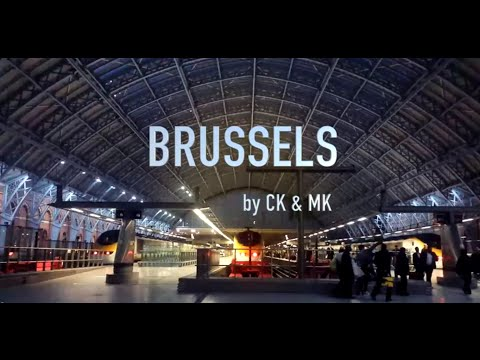 Weekend Trip to Brussels 2015⎪Bruxelles⎪Ghent⎪Bruges⎪From London