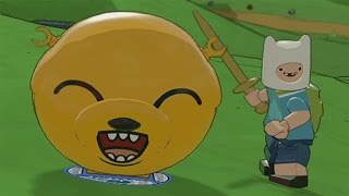 LEGO Dimensions - Adventure Time - All Jake the Dog Transformations