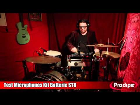 Présentation du set batterie Prodipe ST8