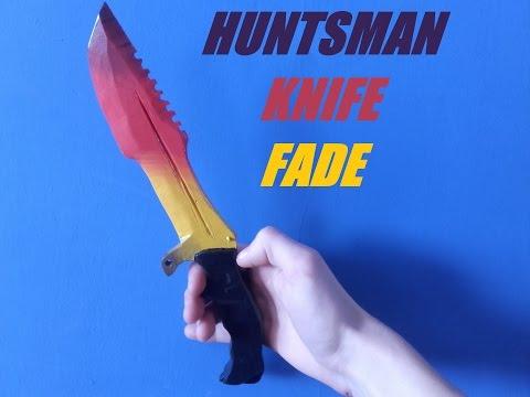 Jak Zrobić Huntsman Knife Fade CS GO ? / How To Make Huntsman Knife Fade