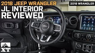2018 Jeep Wrangler JL Sahara Interior Reviewed - In Depth Look At The JL's New Features & Designs
