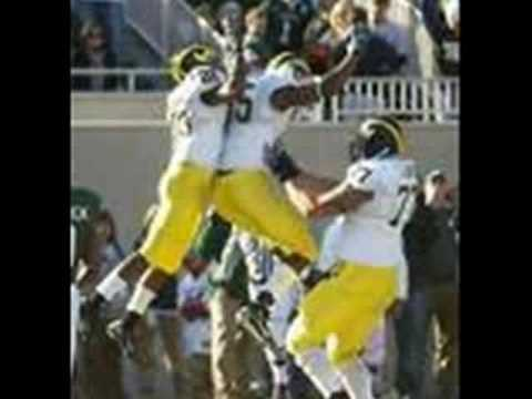 Michigan Wolverines Montage