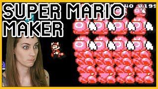 Gotta WIGGLE Outta THIS! Mario Maker [100 Mario Challenge]