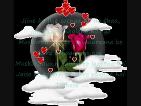 ♥♥Tujh say naraz nahi zindagi ♥♥