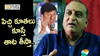 Prudhvi Raj Shocking Comments on Rajendra Prasad over TFI Biggies Meet with Jagan