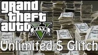 GTA 5 Online Unlimited Money Glitch! (After Patch!)