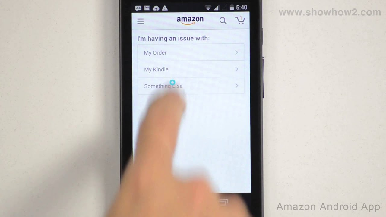 how to call amazon.com customer support