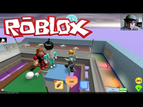 SO MANY BOMBS!!! ROBLOX Super Bomb Survival #1