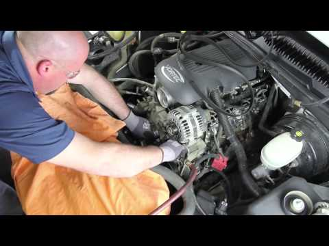 How to install a Water Pump: 2000 - 2006 Chevrolet Tahoe 5.3L V8 WP-9409 AW5104