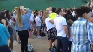 Dad Nails  Dance Moves At The Vamps Gig At Thorpe Park