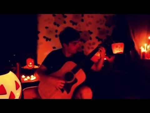 Halloween Theme on Acoustic Guitar by Fabio Lima
