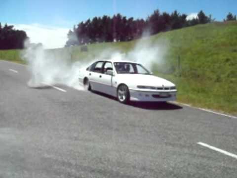 Sport Cars Doing Burnouts