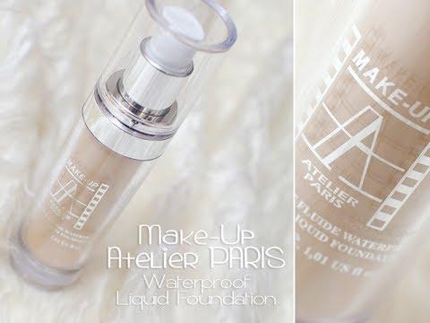 Podkład Wodoodporny * Make-up Atelier PARIS * Waterproof Liquid Foundation -- TEST NA ŻYWO