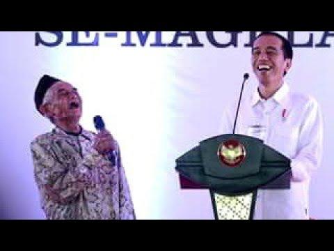 Pendukung Jokowi Pasti Tertawa Ngakak Lihat ini. Pak Kabul Lupa Nama Presiden