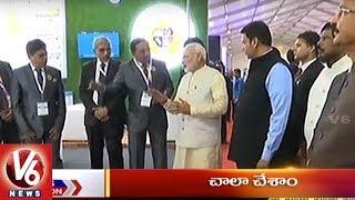 9PM Headlines | World IT Congress | Chhattisgarh Encounter | Magnetic Maharashtra Convergence | V6