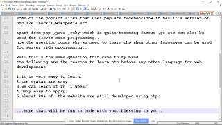 php  programming lecture1(part 2)--