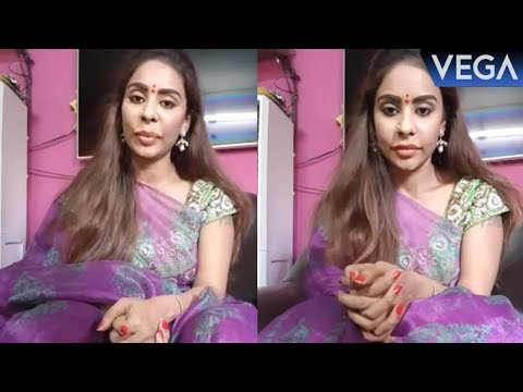 Sri Reddy Facebook live Video | Vega Entertainment