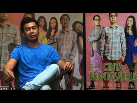 Behind The Scene - film Cinta Brontosaurus