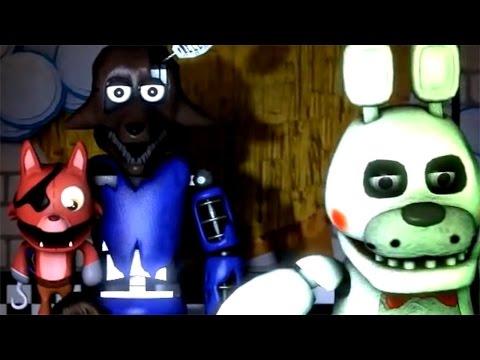 NEW FUTURE ANIMATRONICS!! — Stuffed: The Real Begin Night 1 Animation | Five nights at Freddy's!