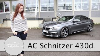 AC Schnitzer BMW 430d Gran Coupé im Test (309 PS /670 Nm) / Sound / Review - Autophorie