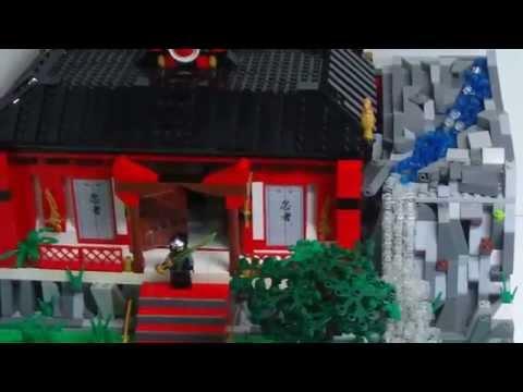 LEGO Ninjago: Tempel im Dschungel MOC(German / Deutsch)