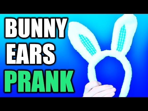 Angry Dad Bunny Ears Prank: Jason Gets A Spanking! video