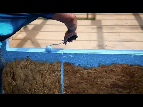 Poly Wall® - Building Solutions (PBS) -  Blue Barrier™ Flash-N-Wrap 2400Application