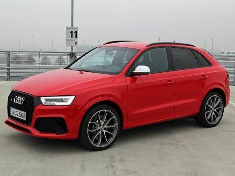 Audi RS Q3 und Audi Q3 Facelift 2015 im Test - Fahrbericht