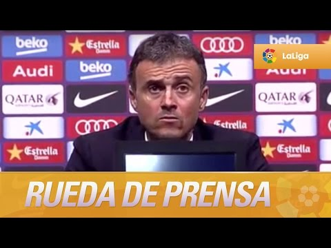 """Luis Enrique: """"Espero y deseo que el Sporting gane los tres partidos que le quedan"""""""