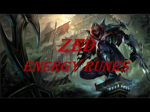 Zed Energy Runes [Guide]