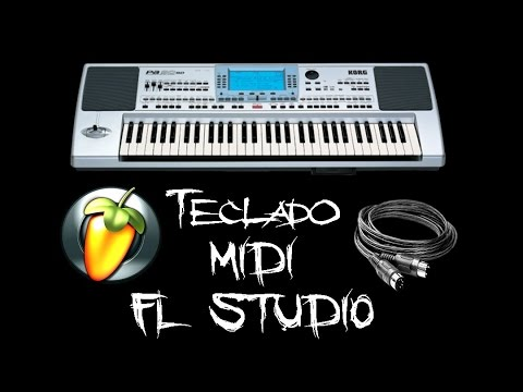 Conectar teclado a PC - MIDI / Fl Studio (Tutorial)