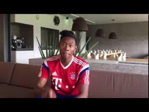 David Alaba unterstützt die FC Bayern Frauen