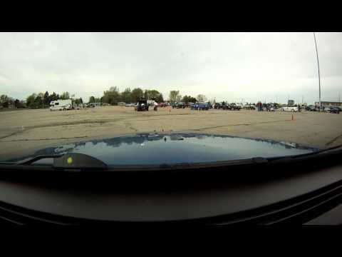 (Spark plug Ejection) 5-6-12 DRSCCA Season opener Autocross Crown Vict