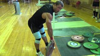 Klokov Dmitry - exercise for  grip   (19.07.2013)