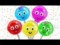 Lollipop Finger Family Song | Finger Family Songs | Nursery Rhymes for Children by HooplaKidz EP 15 MP3