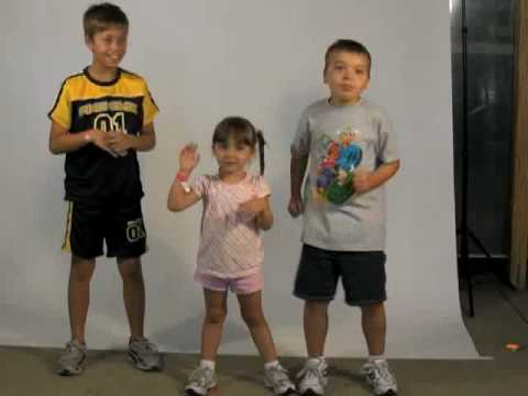 Kids Chicken Dance video
