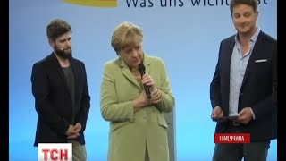 Під шквалом критики опинилася канцлер Німеччини Ангела Меркель після зустрічі зі школярами - (видео)