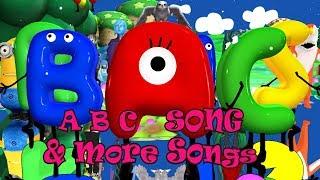 ABC Thriller Alphabet Song & More Songs  | Kids Songs | Nursery Rhymes | Baby Songs | Children Songs