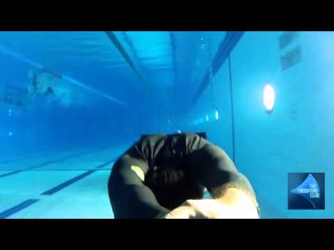 Freediving Training in Dubai for Dynamic with Monofins discipline
