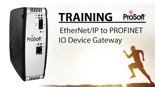 Setup Tutorial for EtherNet/IP to PROFINET IO Device Gateway